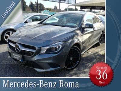 usata Mercedes CLA200 d Automatic Sport del 2016 usata a Roma