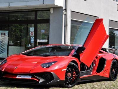 usata Lamborghini Aventador SV 6.5 V12 750-4 BOLLO 4/2021, SERVICE ROSSO MARS CAPRISTO ANTISTONE CARBOCERAMICA PERMUTE