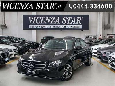 usata Mercedes E200 autom sport new model