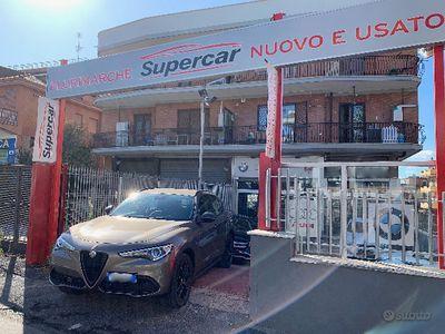 usata Alfa Romeo C-SUV Stelvio 2.2 Turbodiesel 210 CV AT8 Q4 Business