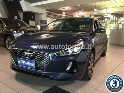 brugt Hyundai i30 I30wagon 1.6 crdi Style 136cv dct