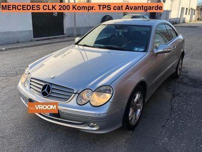 usata Mercedes CLK200 Kompr. TPS cat Avantgarde