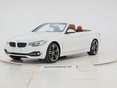 usata BMW 420 Serie 4 d Cabrio Luxury