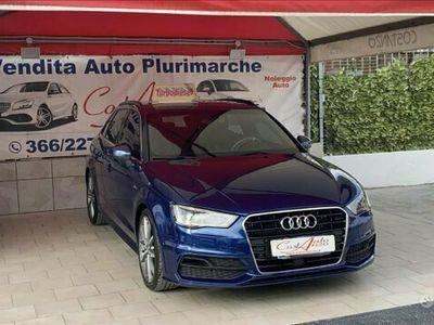 usata Audi A3 Sline 2.0 184 cv 2014 Full optiona L