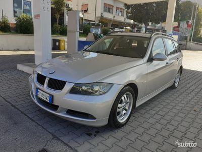 usata BMW 320 2007 euro 4 km certificati 6 marce manuale