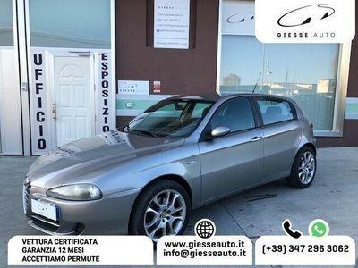 usata Alfa Romeo 147 1.9 JTD (120cv) 5 porte UNIPROPRIETARIO, GARANZIA