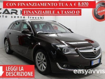 brugt Opel Insignia  [ SW 2.0 CDTI 163CV Cosmo (NAVI+AUTOM.) GAR 24 MESI ]