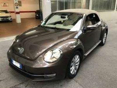 used VW Maggiolino cabrio 2.0 tdi design bluemotion technology diesel