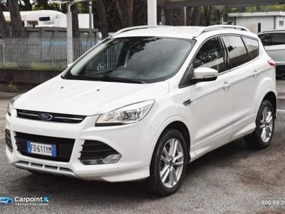 used Ford Kuga 2.0 TDCI 180 CV S&S Powershift 4WD Titanium X del 2016 usata a Roma