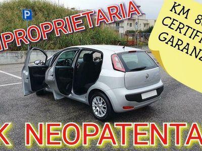 usata Fiat Punto Evo 1.2 Benzina 5 Porte Blue&Me