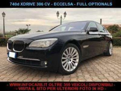 usata BMW 740 d xdrive eccelsa - tagliandata diesel
