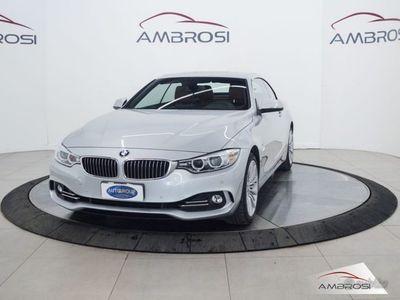 usata BMW 435 Serie 4 Cabrio dA xDrive Luxury del 2014 usata a Viterbo