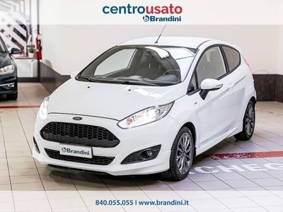 usata Ford Fiesta VI 2013 1.5 tdci ST-line 75cv 3p