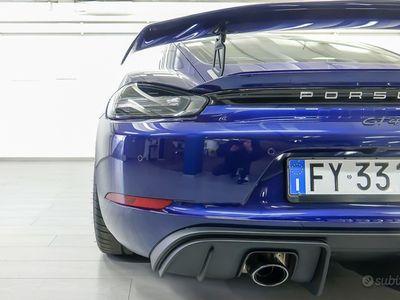 usata Porsche Cayman GT4 ITALIANA PRONTA UNICA