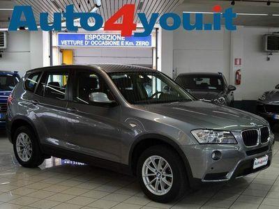 "usata BMW X3 xDrive20d ""Km 59900-Pdc-Ufficiale Ita"
