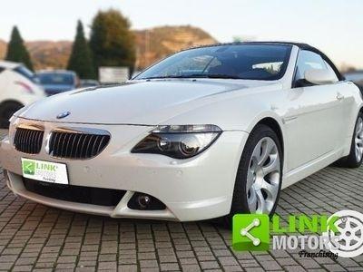 usata BMW 630 Serie 6 Cabrio i cat
