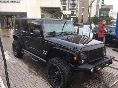 usata Jeep Wrangler Unlimited 3.6 V6 Sahara Auto