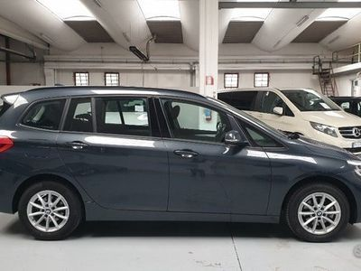 usata BMW 214 Gran Tourer d Advantage - 7 POSTI - NAVY - PDC -
