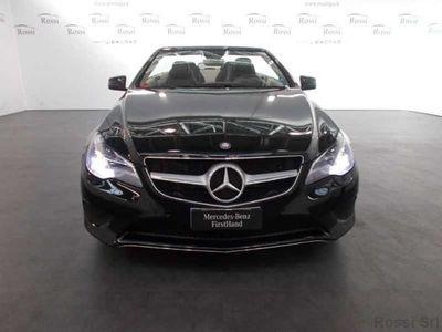 używany Mercedes E220 Cabrio Sport