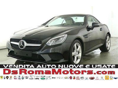 usado Mercedes E250 SLC d 9G-TRONIC NAVI FULL LED PANO AIR SCARF PELLE PDC