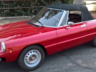 usado Alfa Romeo 2000 Spider DuettoVeloce 1982