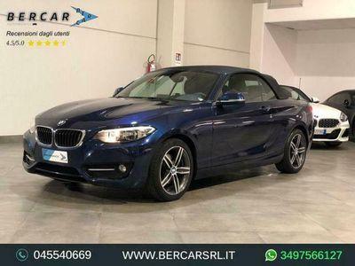 usata BMW 220 d Cabrio Sport *XENON*NAVI*ASSETTO M*PDC*