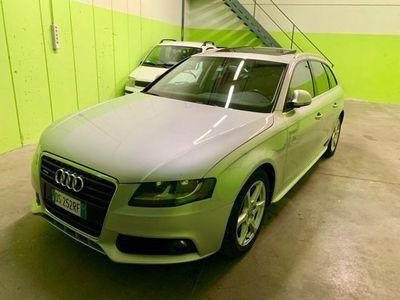 usado Audi A4 Avant 3.0 V6 TDI QUATTRO pelle rosso panoramico