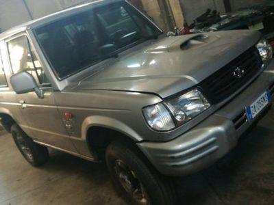 usata Hyundai Galloper 2.5 TDI Corto Comfort + clima