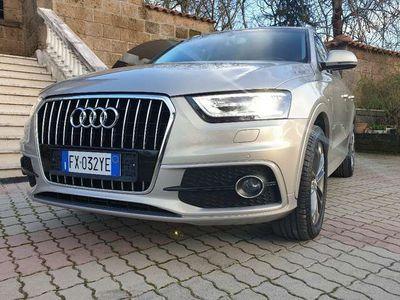 usata Audi Q3 1.4cc TFSI automatico led xenon navi sensori sline