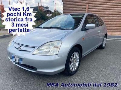 usata Honda Civic 1.6 16V VTEC 3 porte ES Tagliandi Benzina