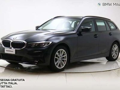 usata BMW 320 Serie 3 Touring d Business Advantage aut. del 2020 usata a Milano