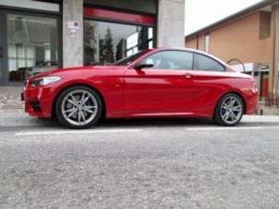 usata BMW M235 235COUPE´ AUTOMATICA, TAGLIANDI, UNICOPROP. Benzina