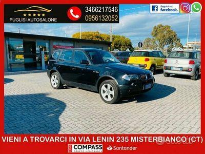 usata BMW X3 2.0 d 150 cv finanziabile