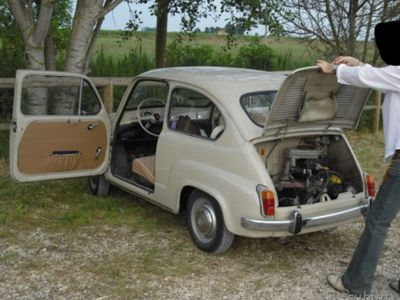 "käytetty Fiat 600D ""Fanalona"" d'epoca"
