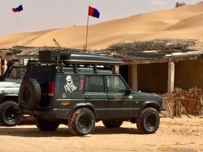 used Land Rover Discovery 2 preparato viaggi off road