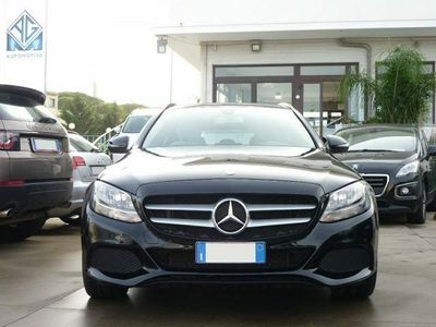usata Mercedes C200 d S.W. Autom Business - Navig + Cruise + Pre-Crash