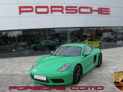 usata Porsche 718 Cayman 2.5 s-colore su campione-full optional