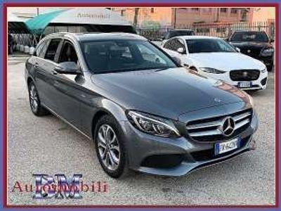 usata Mercedes C220 d S.W. 4MATIC AUTO SPORT NAVI KAMERA LED C17 Diesel