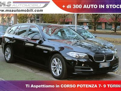 brugt BMW 520 Serie 5 Touring d Touring Luxury Navi...