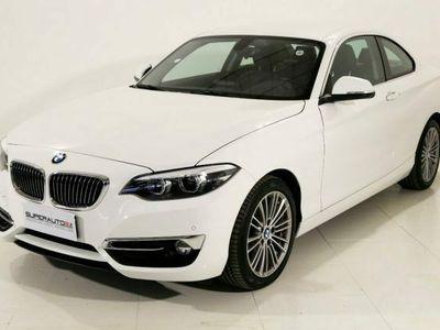 usata BMW 218 d Coupé Luxury aut.