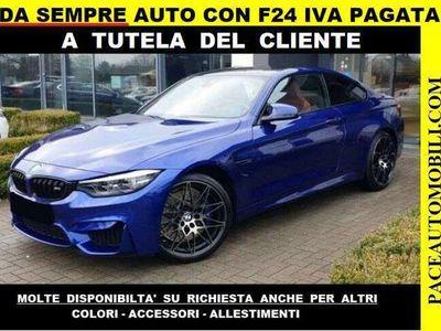 usata BMW M4 COMPETITION KAMERA HEADUP FORNIAMO F24 IVA PAGATA