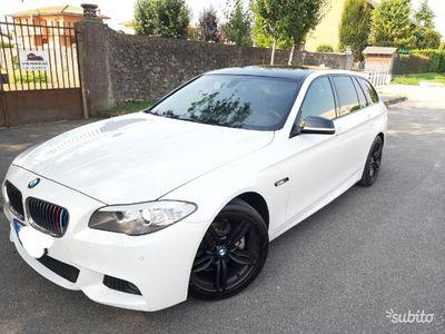 usata BMW 520 M sport interno esterno anno 2014