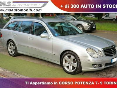 used Mercedes E320 Classe ECDI cat S.W. EVO Avantgarde Unicopropriet