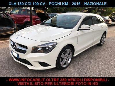 used Mercedes CLA180 d 109 cv S.W. soli 36.000 KM