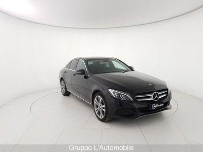usata Mercedes C220 Classe C Classe C-W205 2014 Berlinad Sport 4matic auto 9m