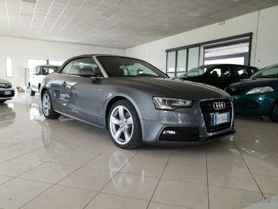 usata Audi A5 Cabriolet 2.0 automatica tan 3.50% s-line