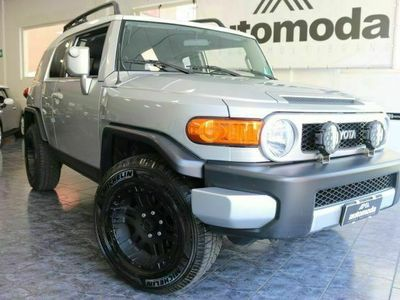 """usata Toyota FJ Cruiser """""""" GPL / Km 89000 con FATTURE LAVORI """""""""""