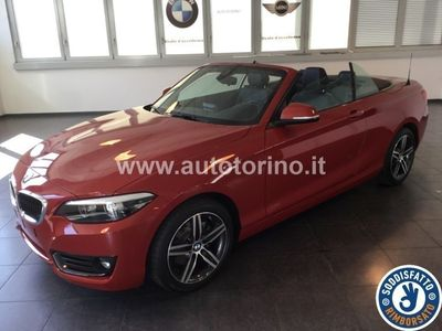 used BMW 220 SERIE 2 CABRIO I CABRIO ADVANTAGE