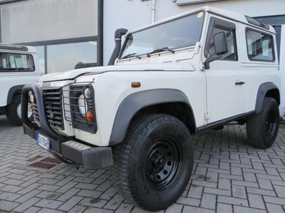 brugt Land Rover Defender 90 2.5 Td5 **AUTOVETTURA 7 POSTI/CLIMA/GANCIO TRA*