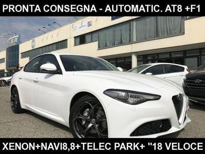 """usado Alfa Romeo Giulia 2.2 td 150CV AT8 Super +Navi 8,8+Xenon+""""18 Veloce"""